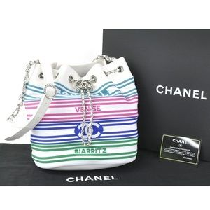 Authentic CHANEL Drawstring Crossbody bag